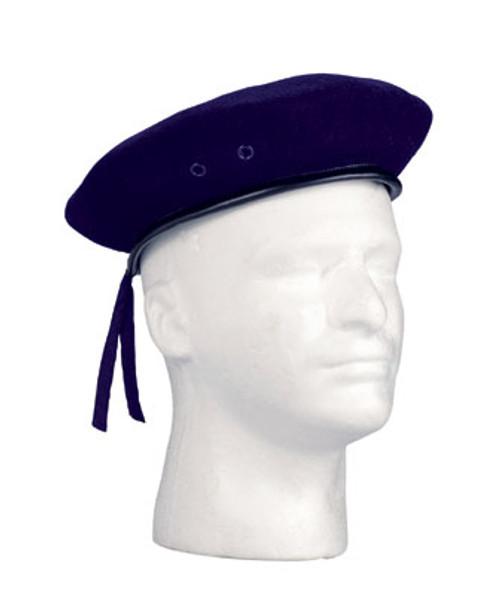 GI Style Beret Navy Blue