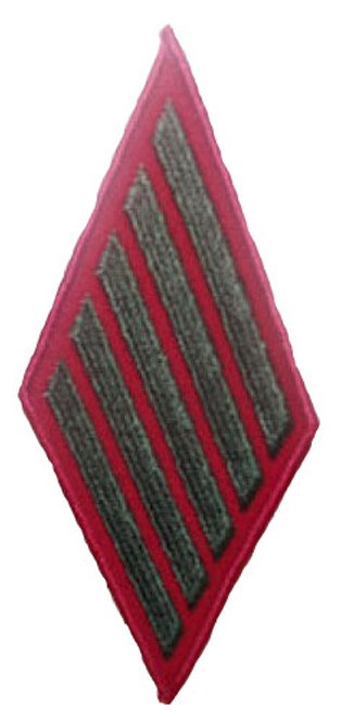 M/C 5th ENL WMN Insignia Patch (Service Stripes)