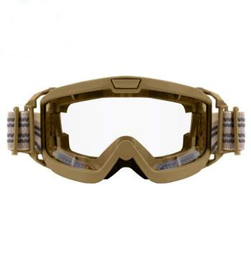 Rothco OTG Ballistic Goggles Coyote Brown with Clear Lens