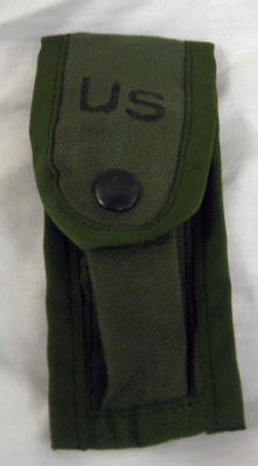 Military Issue Single 9MM Clip Pouch