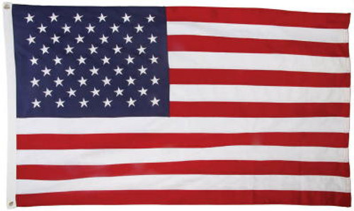 USA Embroidered 600D Polyester Flag 4x6