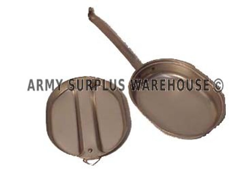 NEW GI ISSUE STAINLESS STEEL MESS KIT