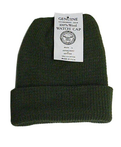 Govt. Issue Wool Watch Cap
