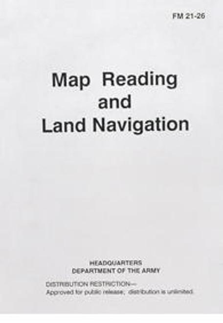 MAP READING & LAND NAVIGATION MANUAL /BK152