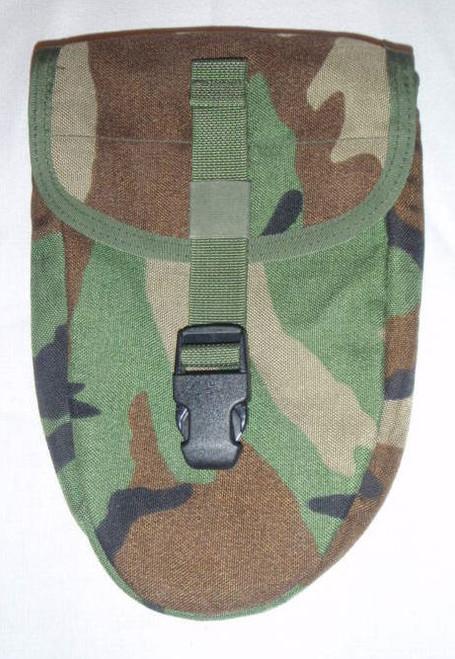 US GI MOLLE USMC E-TOOL CARRIER WOODLAND