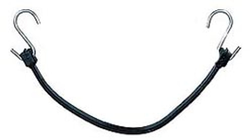Black Rubber Bungie Cord - 31 inches Set of 4
