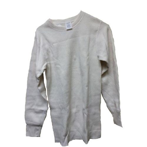 100% Cotton Creme Undershirt Size Medium K-23