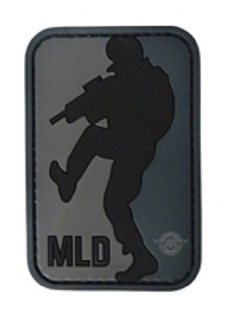Morale Patch Major League Door-Kicker Black