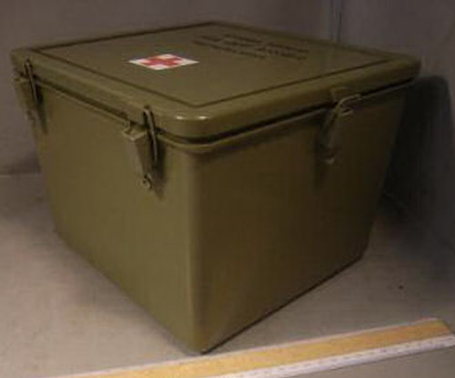 General Purpose Empty Military Issue Medical Cases Plastic ...