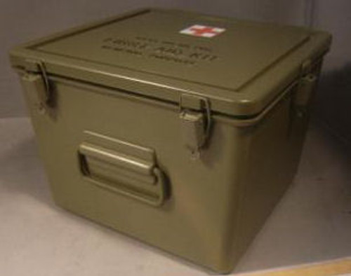 General Purpose Empty Military Issue Medical Cases Plastic