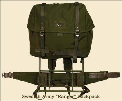 Swedish Army Ranger Backpack With Frame