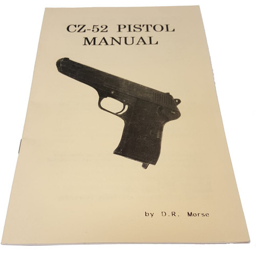 CZ-52 Pistol Manual
