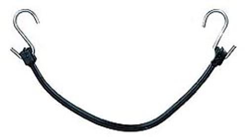 Black Rubber Bungie Cord - 41 inches Setof 4