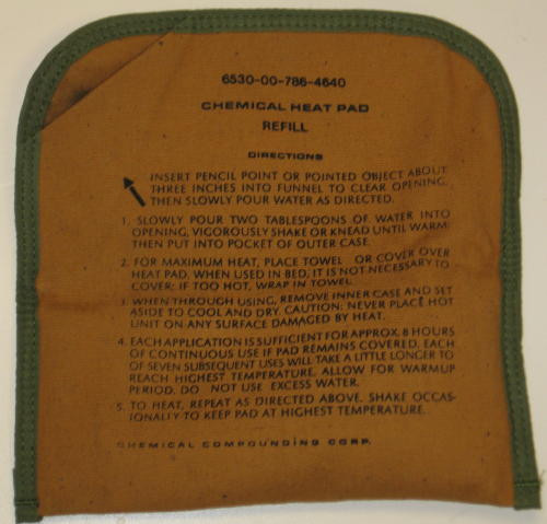 Reusable Chemical Heating Pad