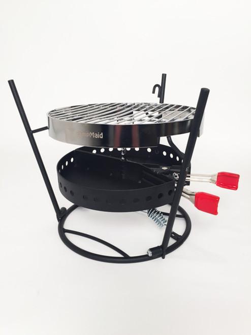 CampMaid Grill & Smoker 3 Piece Set
