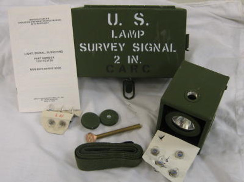 Military Issue Light Signal Survey Kit