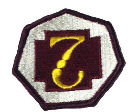 Military Issue 7th Medical Command Class A Patch