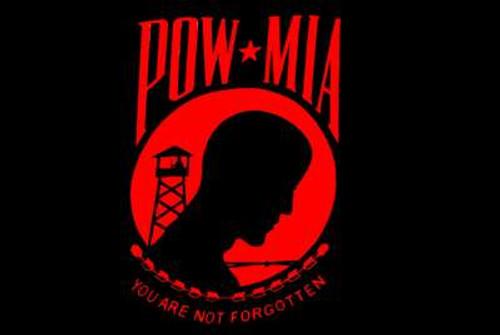 POW/MIA Flag Red