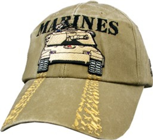 Marines Tank Treads Cap