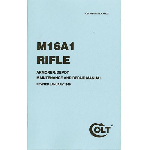M16A1 Rifle Armorer Maintenance Manual Printed 1980