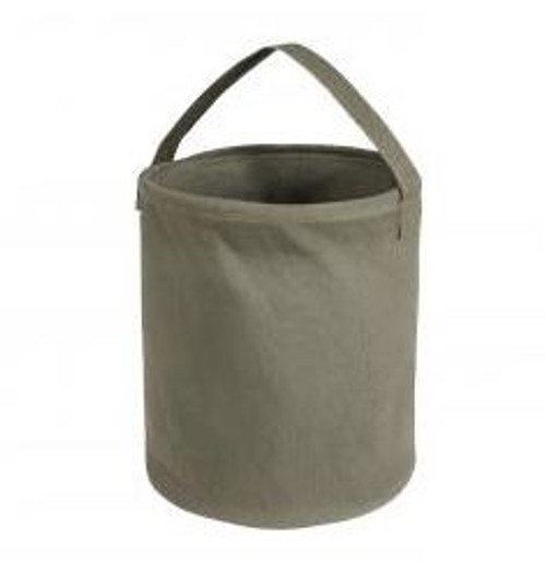 Rothco Canvas Medium Water Bucket- OD Green
