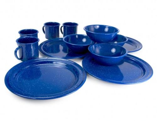 GSI Outdoors Sierra Table Set-Blue