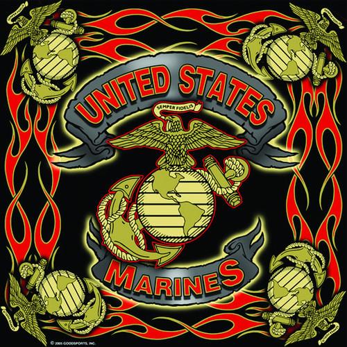 New Style Marines Bandanna