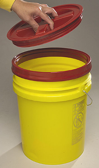 Gamma Seal Lid Red Color