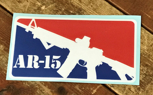 AR-15 Vinyl Sticker Decal