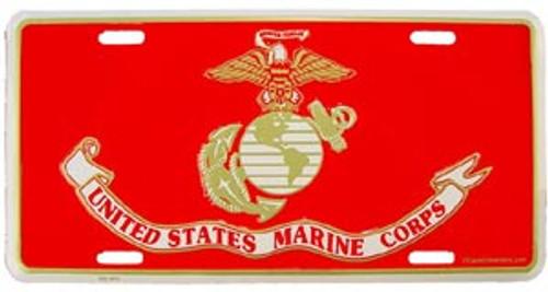 USMC License Plate