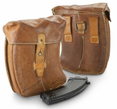 Czech AK47 Leather mag Pouch