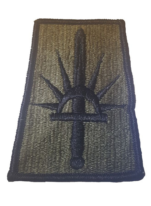Military Issue New York Army National Guard Subdued OD Patch