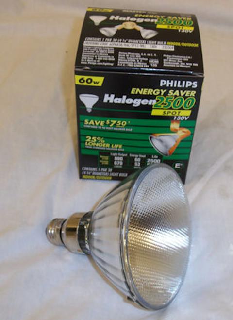 Philips Energy Saver Halogen 2500 Spot Bulb 60W