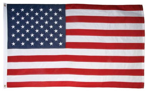United States Flag Embroidered