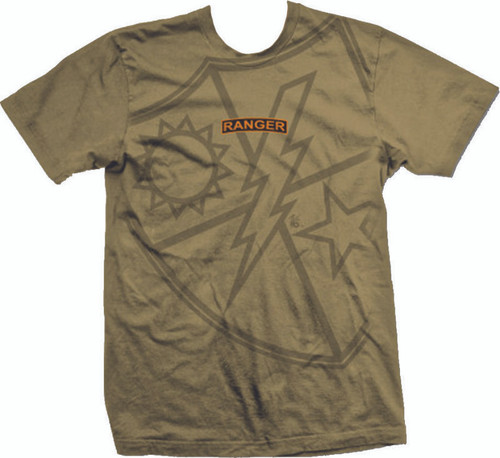 Zero Six Tan  Ranger Tab T-Shirt