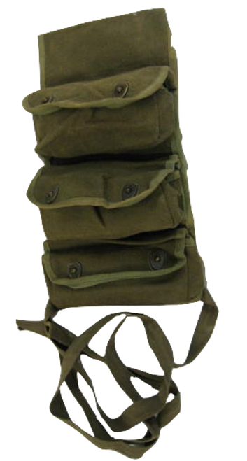 French 3 Pocket Ammo Pouch