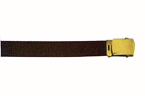 Brown Web Belt