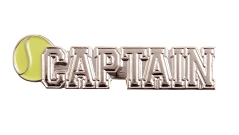 Captain Tennis Lapel Pin