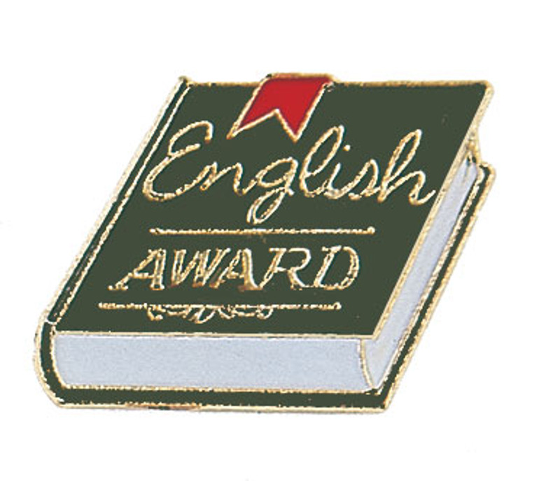 English Award Lapel Pin