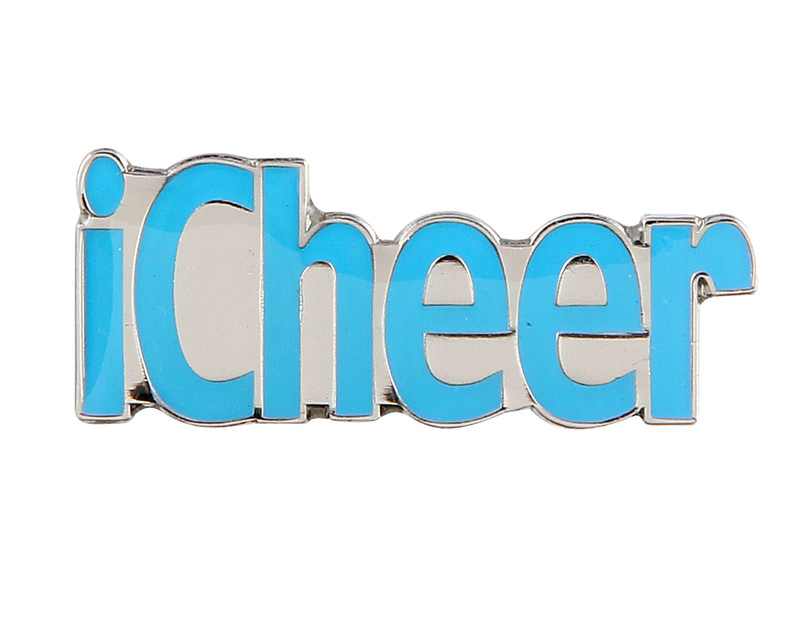 iCheer(LIGHT BLUE) Lapel Pin
