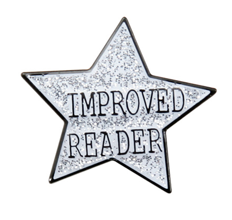 Improved ReaderStar Lapel Pin