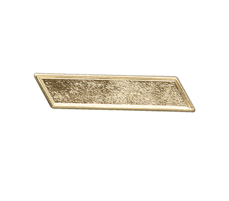 Gold Bar Lapel Pin