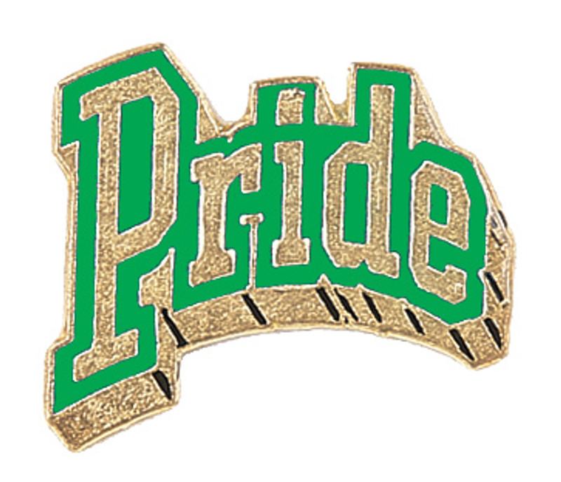 Pride (Green) Lapel Pin