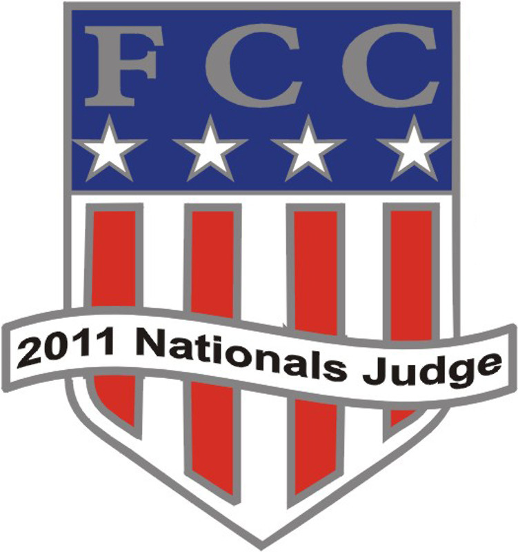 FCC 2011 Nationals Judge Lapel Pin