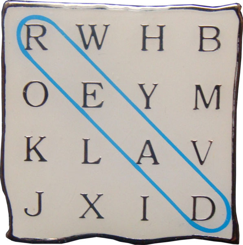 READ word search Lapel Pin
