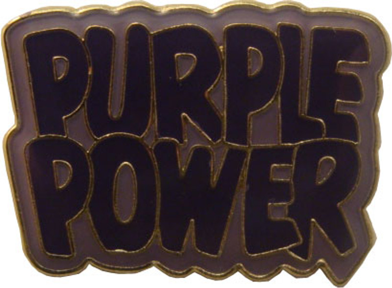 Purple Power Lapel Pin