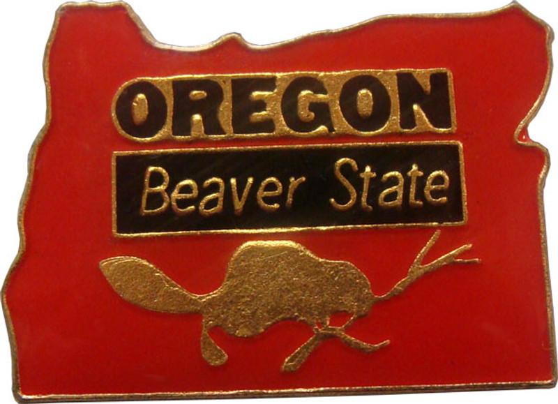 Oregon State Lapel Pin