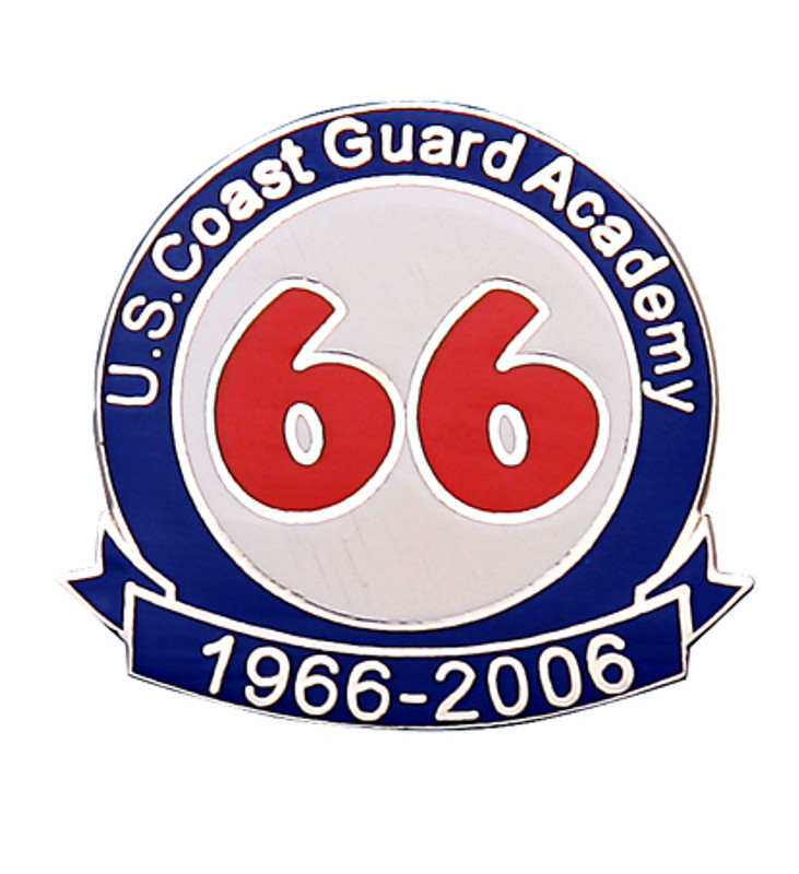 U.S. Coast Guard Academy 1966-2006 Lapel Pin