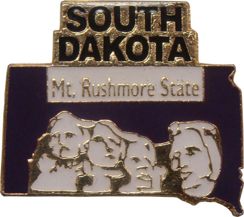 South Dakota State Lapel Pin