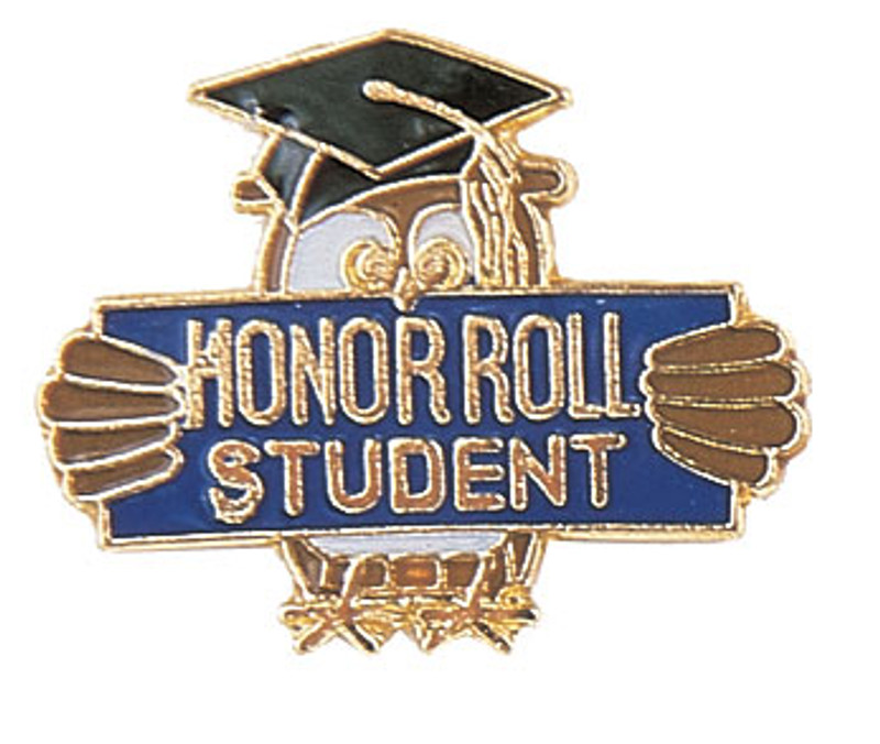 Honor Roll Student Lapel Pin